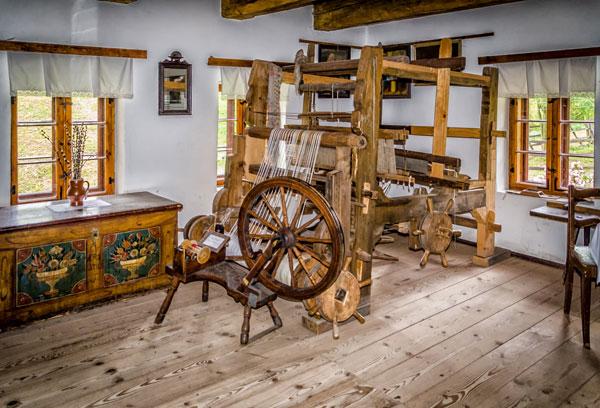 Muzeum Kultury Ludowej Pogórza Sudeckiego Chata tkacza