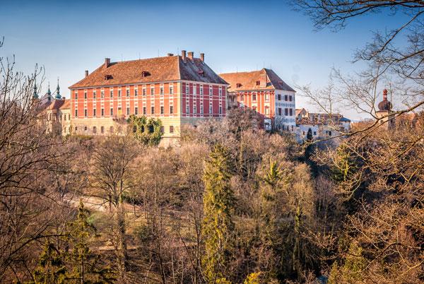 Zamek Opocno w Czechach