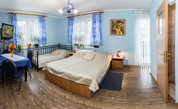 Zajazd Carlsberg w Karłowie pokoje gościnne