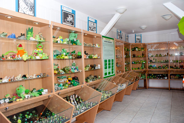 Muzeum żaby w Kudowie Zdroju