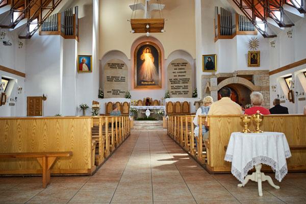 Kościół Rzymskokatolicki pod wezwaniem Miłosierdzia Bożego