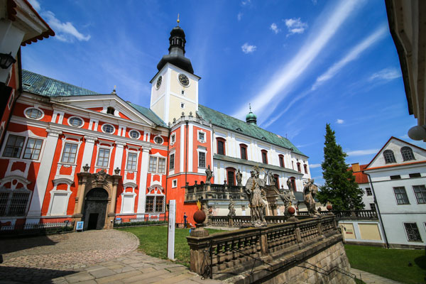 Klasztor Broumov w Czeskiej Republice