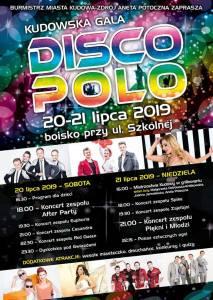 Kudowska Gala Disco Polo Lipiec 2019