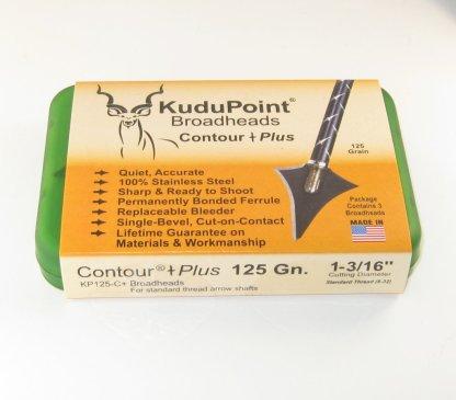 KP Contour Plus 125 grain broadhead