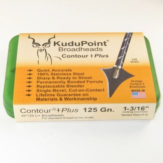 KP Contour Plus 125 grain broadhead