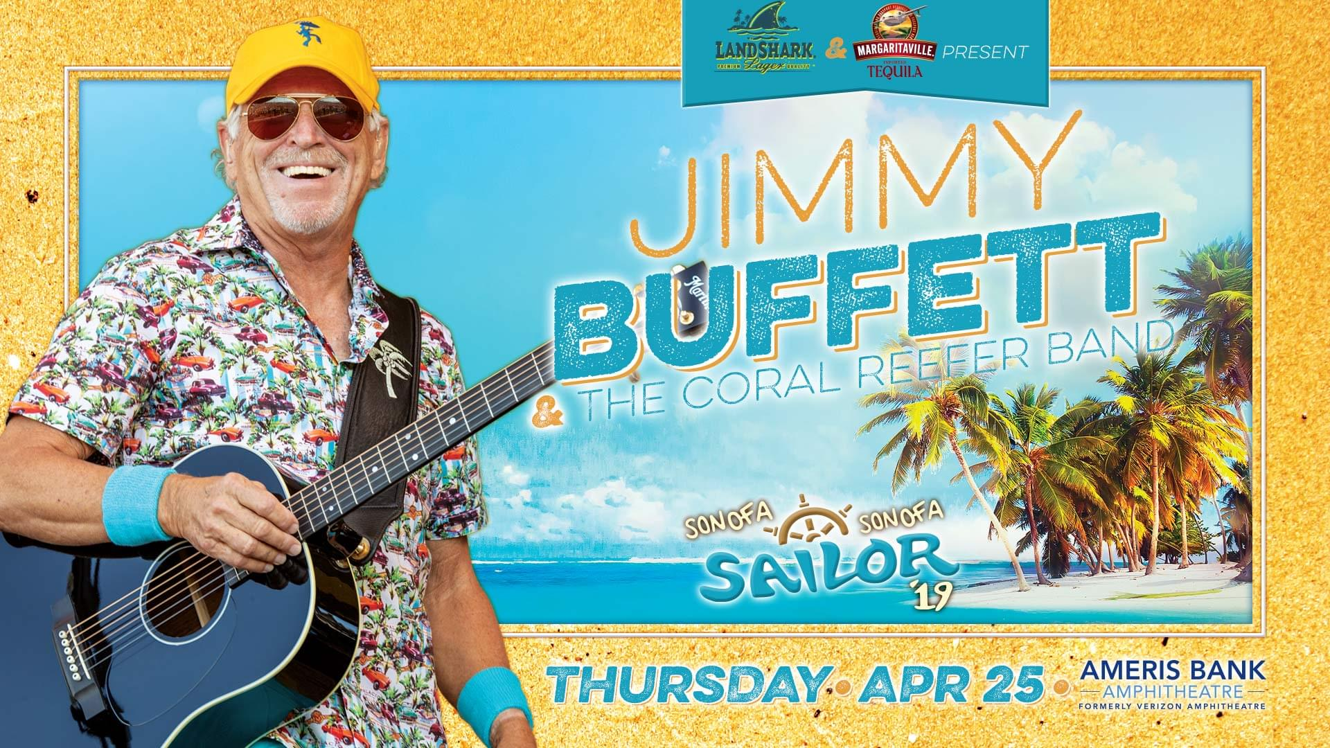 Dodging snowflakes with Jimmy Buffett
