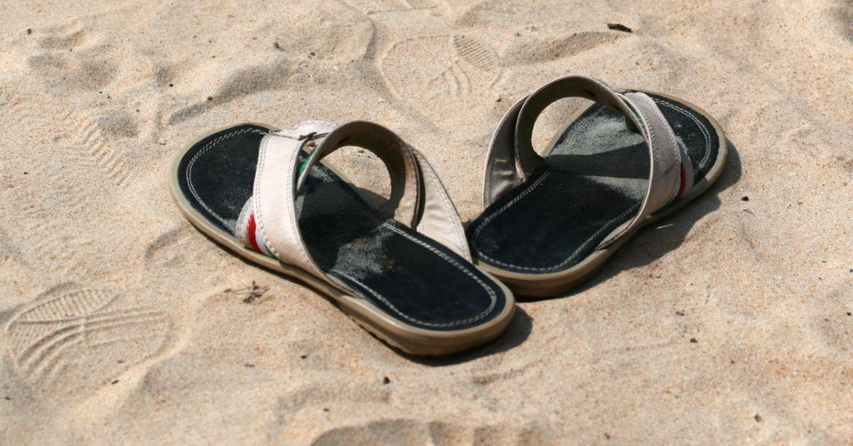 Are flip-flops appropriate civil war attire?