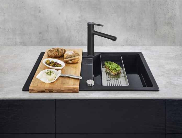 """Urban"" from Franke's innovations for 2021: a duo of sink and mixer that looks great in any kitchen.  (Photo: Franke GmbH)"