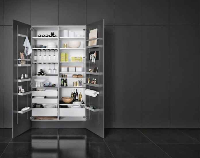The MultiMatic Interior series from SieMatic offers individual storage space in a variety of ways.  Even the placement of the stowed items can be selected individually.  (Photo: SieMatic)
