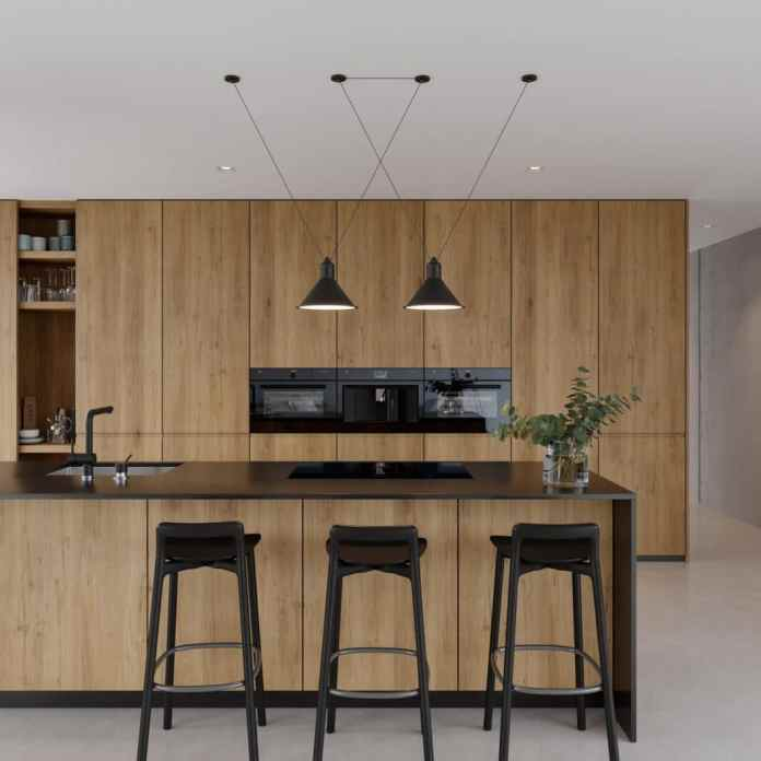 The completely black design of appliance fronts results in unique new possibilities in kitchen design.  (Photo: V-ZUG)