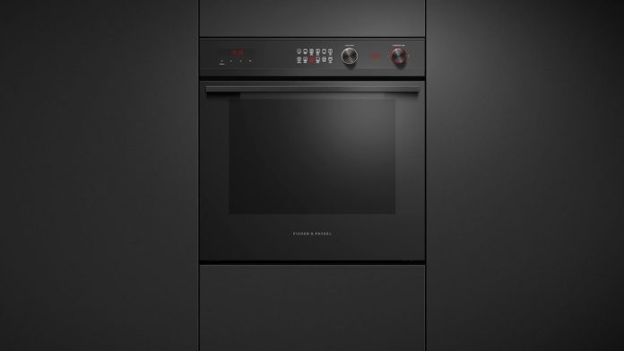 From the handle bar to the control buttons, kitchen appliances are equipped with anodized stainless steel, aluminum and black glass - a uniform appearance.  (Photo: Fisher & Paykel)