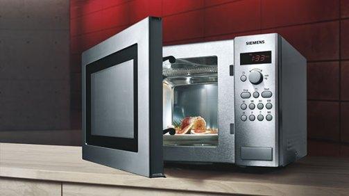 Freistehende Mikrowelle Siemens