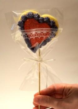 Valentinstag Geschenk Keks Blog
