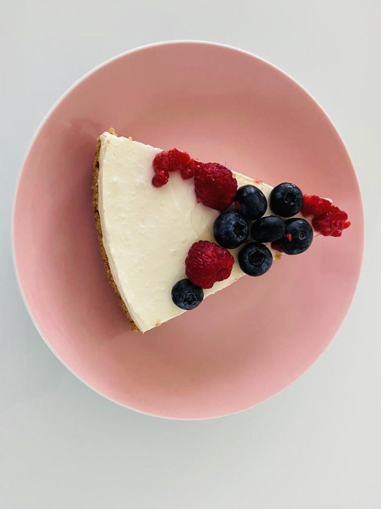 erfrischende Torte ohne Backen