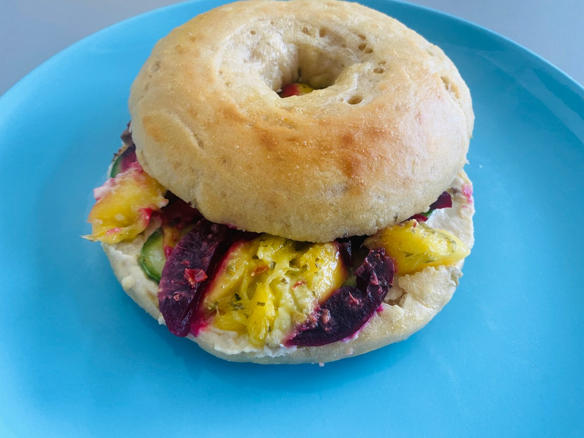 home made Bagel