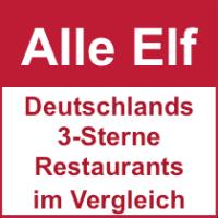 Alle Michelin 3-Sterne-Restaurants in Deutschland 2015