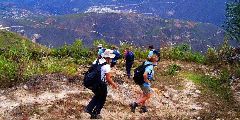 trekk por la ruta de los Chachapoyas