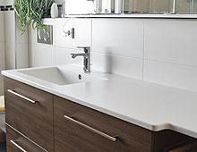 Sitzbank & Waschbecken für kidibad