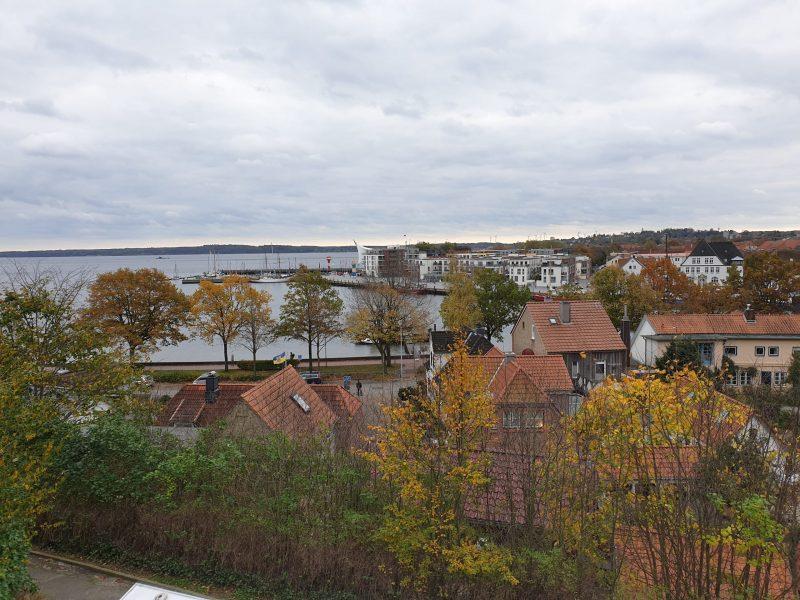Eckernförde Aussichtsplattform Borby