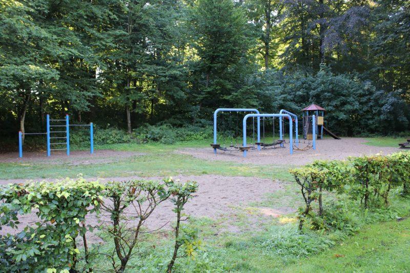Spielplatz im Kurpark Bad Oldesloe