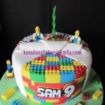 jual kue ulang tahun lego