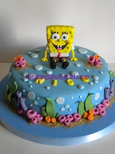 jual kue spongebob jakarta