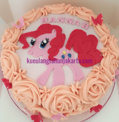 model kue ultah little pony
