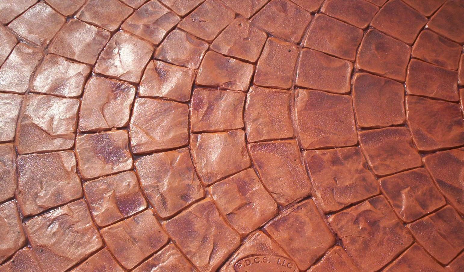 pattern concret fish scale