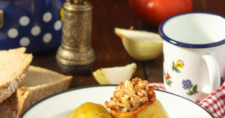 Punjene tikvice / Stuffed zucchini