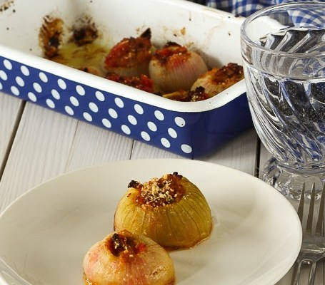 Punjeni luk / Stuffed onions