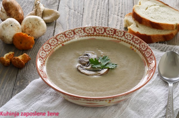 Čorba od pečuraka / Mushrooms creamy soup