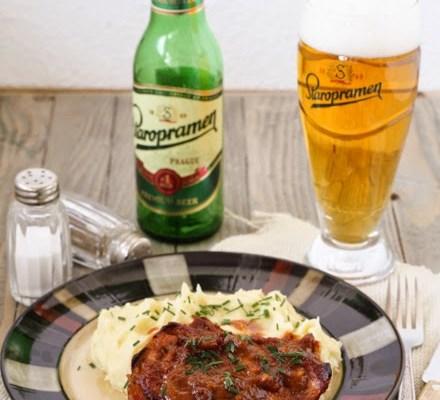 Marinirane krmenadle / Marinated pork chops