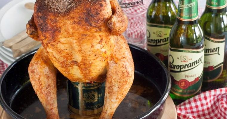 Pile na konzervi piva / Chicken on beer can