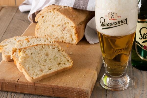 Hleb sa pivom / Beer bread