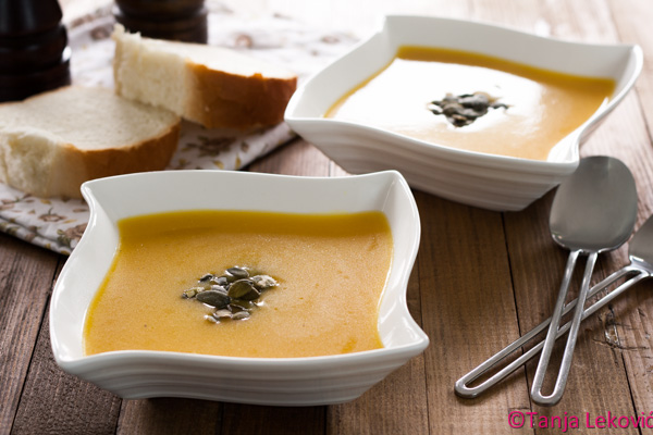 Čorba od bundeve / Pumpkin cream soup