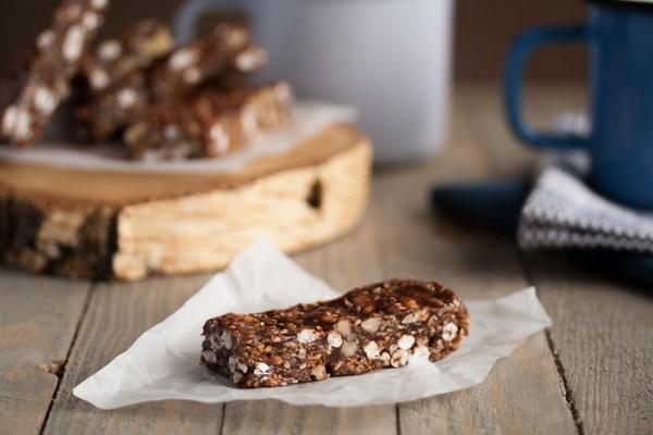 Domaća bonžita / Homemade chocolate granola bar