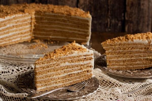 Medovik / Medovik cake