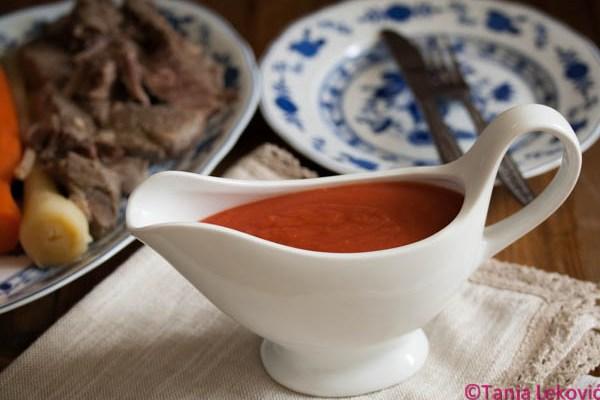Paradajz sos (za rinflajš) / Tomato sauce