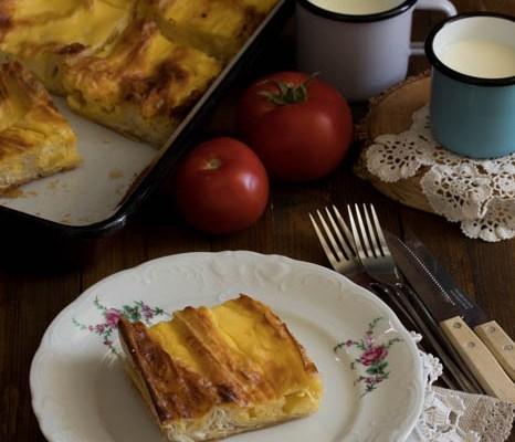 Harmonika pita sa sirom / Cheese pie