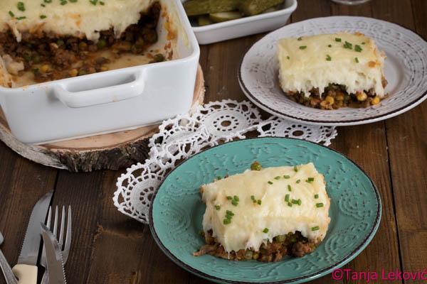 Pastirska pita / Shepherd's pie