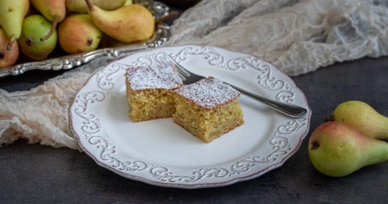 Jednostavni kolač sa kruškama