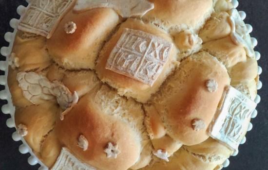 Posni slavski hleb