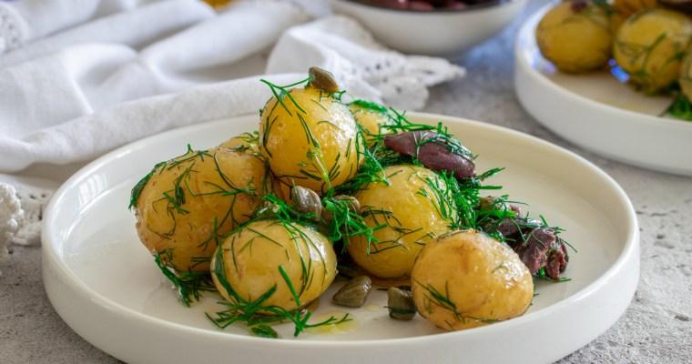 Mediteranska krompir salata