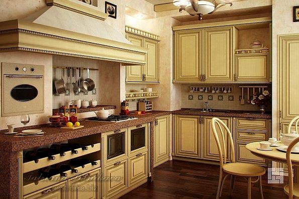 дизайн классической кухни 2