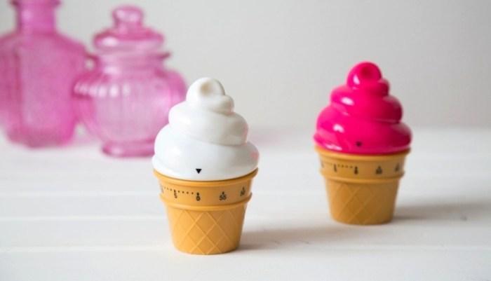 Механические таймеры в форме мороженого