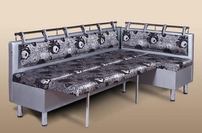 Угловая скамья-диван со спальным местом