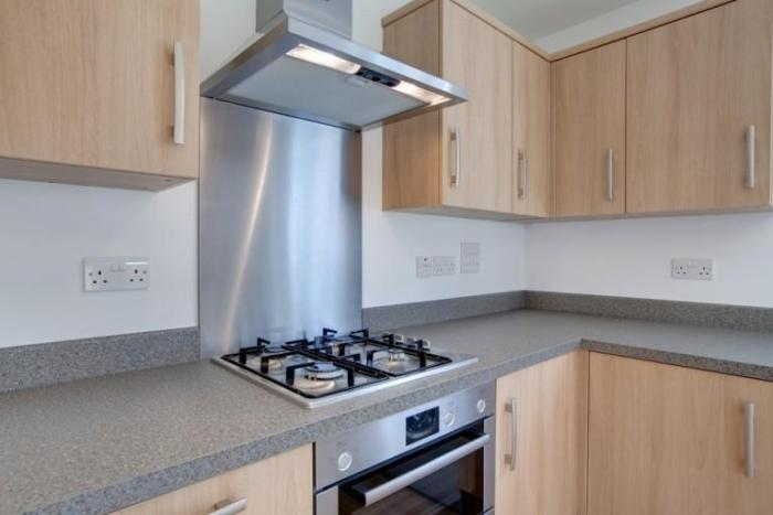 Газовая плита на кухне
