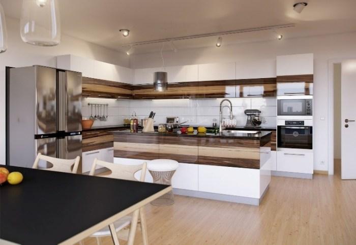 Кухня с «островом»