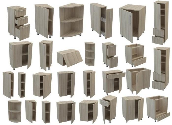 Модульные элементы для кухни