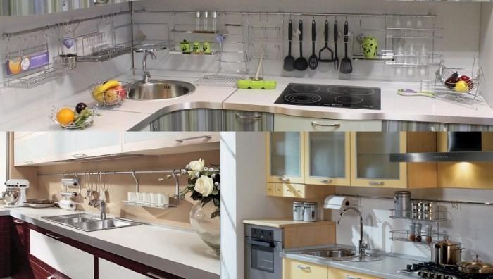 Рабочее пространство на кухне должно быть удобным